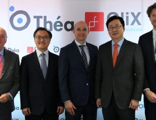 Consolidation de la collaboration avec OliX Pharmaceuticals